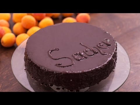 Sacher Torte - Chocolate Cake with Apricot Jam Filling Recipe