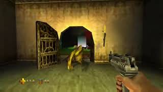 Turok 2 Level 1 Walkthrough All Keys, Distress Beacons and Children Rescues