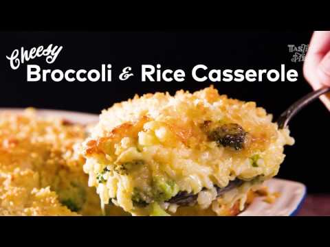 Cheesy Broccoli & Rice Casserole | Cook | Tasting Table