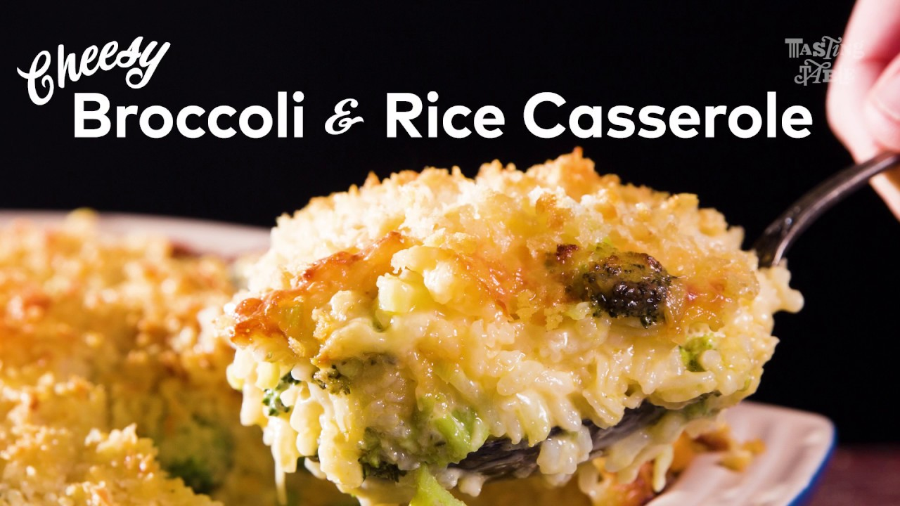 Cheesy Broccoli Rice Casserole Cook Tasting Table