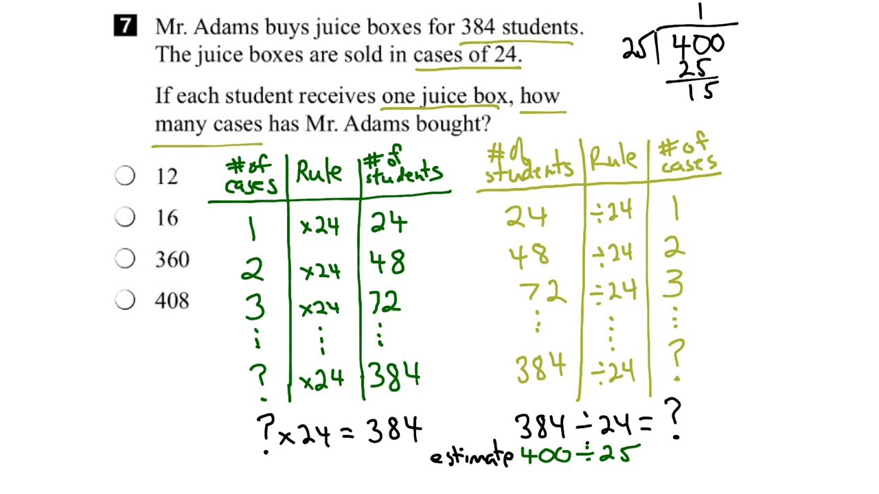 Worksheet Grade 6 Math eqao grade 6 math 2015 question 7 solution youtube solution