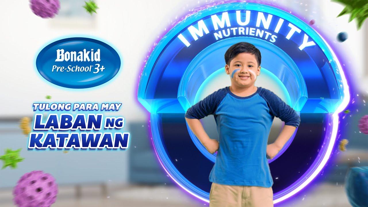 Para may Laban ng Katawan, mag Bonakid Pre-School® 3+