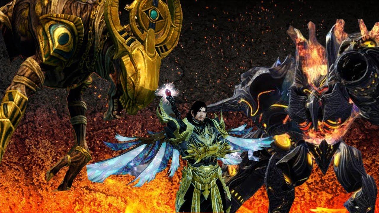 Guild Wars 2 : Solo Legendary Bounty Hoarder in 2 Minutes ( Guide )