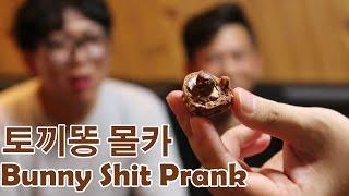 [토끼똥 몰카] Bunny Shit Prank - 쿠쿠크루(Cuckoo Crew)