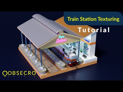 train-station-texturing-blender-lowpoly-isometric-tutorial-part-2---indonesia