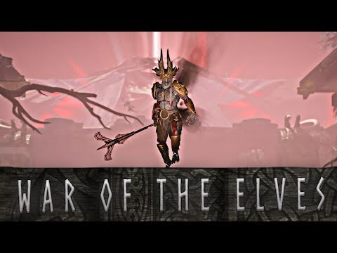 God of War - The War Between the Light and Dark Elves // All Scenes