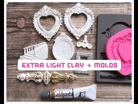 Extra Light Clay + Silicone Molds DIY