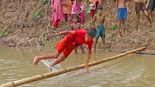 Try not to laugh challenges | funny moments in kids sports I traditional village game