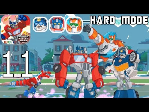 Transformers Rescue Bots: Disaster Dash Hero Run - IPhone Gameplay Walkthrough Part 11