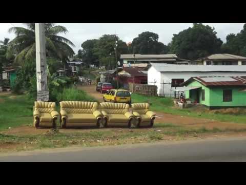 Monrovia (Liberia) in less than 2 minutes
