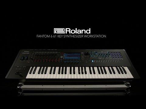 Roland Fantom 6 61 Key Synthesizer Workstation | Gear4music demo