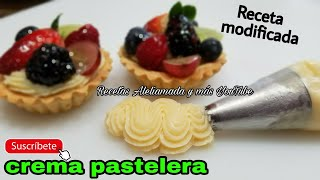 CREMA PASTELERA | RECETA MODIFICADA.