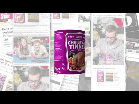 James Burlander - Christmas Tinner, Have You Heard About This Complete Dinner In A Can?
