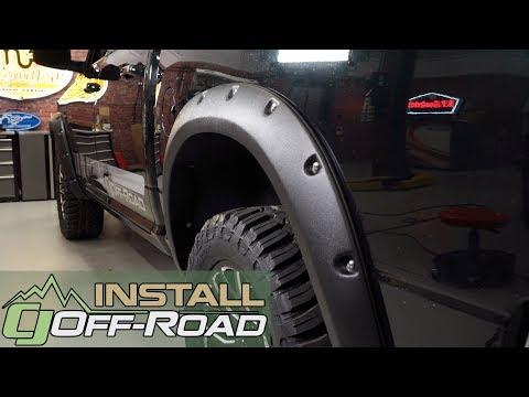 Dodge Ram Install: Rivet Style Fender Flares for the 2009-2018 RAM