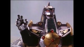 Dragonzord vs Megazord Battle in Mighty Morphin Power Rangers | Episode 21