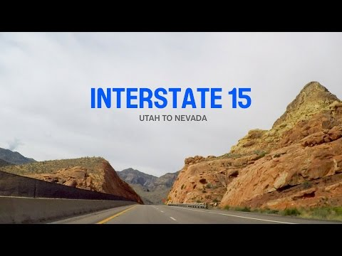 Interstate 15 - Utah to Red Rock Canyon