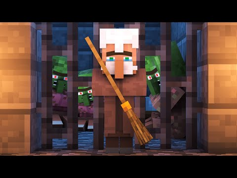 Zombie vs Villager Life 7 - Alien Being Minecraft Animation