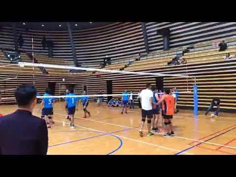 Galkot Sports Club Fourth Friendship Volleyball Compettation Nagoya Student VS Solmari Japan