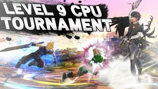 LEVEL 9 CPU TOURNAMENT - Super Smash Bros. for Wii U - Part 1