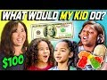 CAN PARENTS GUESS WHAT THEIR KID DOES WITH 100 DOLLARS? Ep. # 4