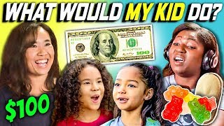 Download CAN PARENTS GUESS WHAT THEIR KID DOES WITH 100 DOLLARS? Ep. #4 Mp3 and Videos