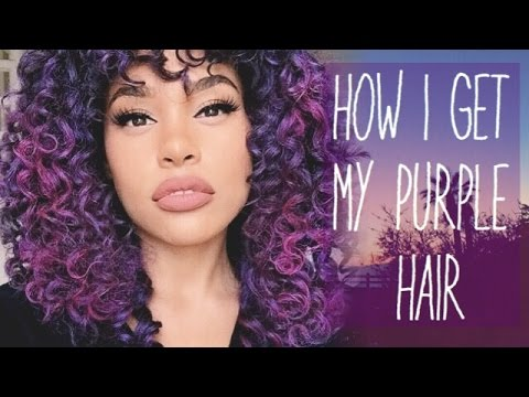 How To Color Hair W O Bleaching Or Permanently Coloring