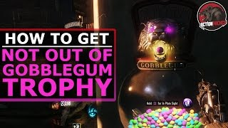 "Shadows of Evil: ""NOT OUT OF GOBBLEGUM"" Trophy / Achievement (Black Ops 3 Zombies)"