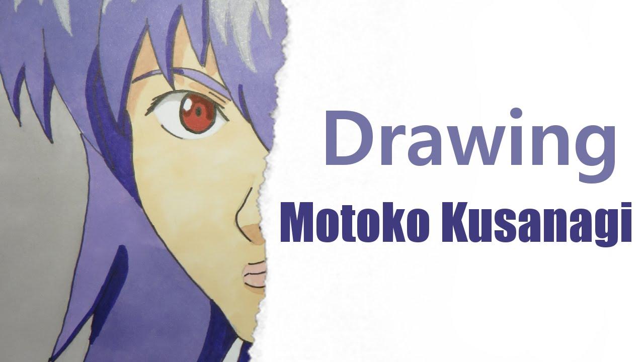 Drawing Motoko Kusanagi