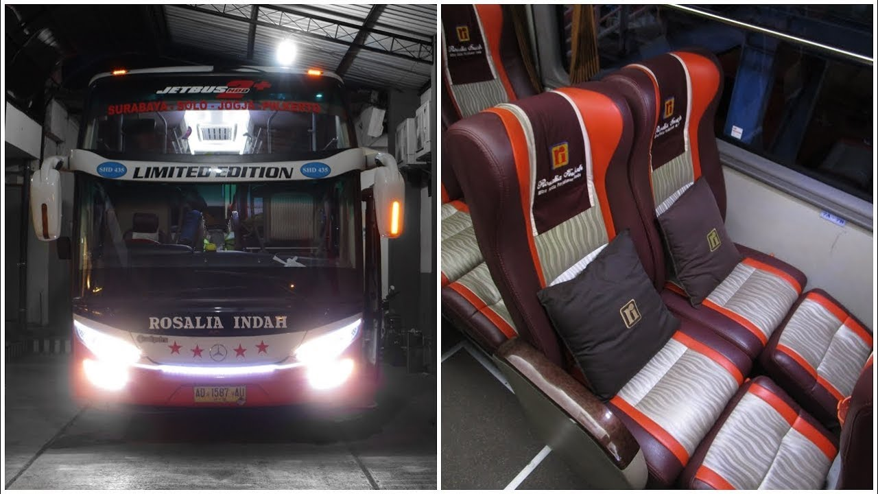 Plus Plus Bus Eksekutif Murah Meriah Surabaya Jogja Rosalia Indah Executive Plus