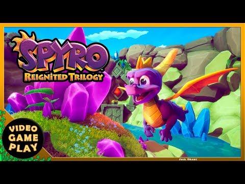 Spyro Reignited Trilogy - Vuelo Soleado 100% All in One Walkthrough Gameplay
