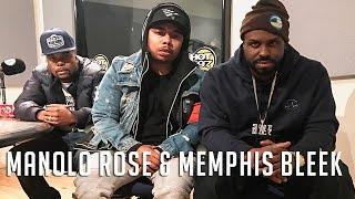 Manolo Rose & Memphis Bleek on Flex   Freestyle #033