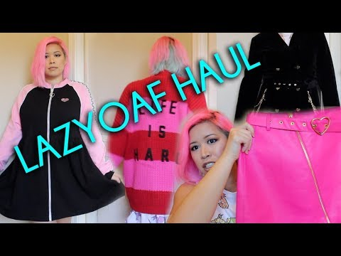 NEW Lazy Oaf & G.E.M. Try On Haul