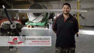Aviation Maintenance Testimony | Ramiro Obledo | Spartan College