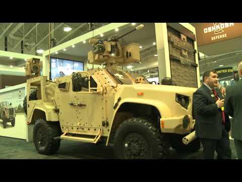 AUSA 2017 - OshKosh New Joint Light Tactical Vehicle JLTV models