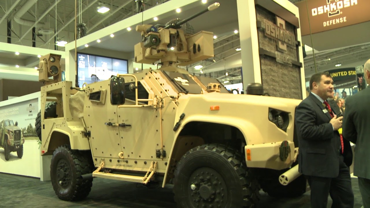 Oshkosh Defense Jltv >> Ausa 2017 Oshkosh New Joint Light Tactical Vehicle Jltv Models
