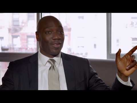 Annie: Adewale Akinnuoye-Agbaje Official Interview - YouTube