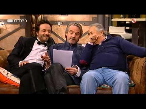 """""""Jeremy Irons lê Fernando Pessoa"""" - José Pedro Vasconcelos - 5 Para a Meia Noite"""
