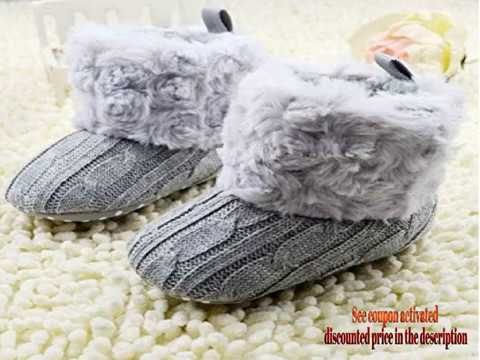 weixinbuy-baby-girls-knit-soft-fur-winter-warm-snow-boots-crib-shoes