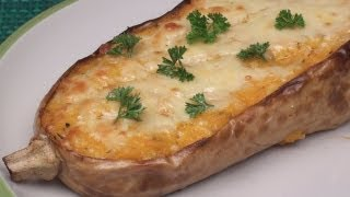 Baked Cheesy Butternut Squash Recipe
