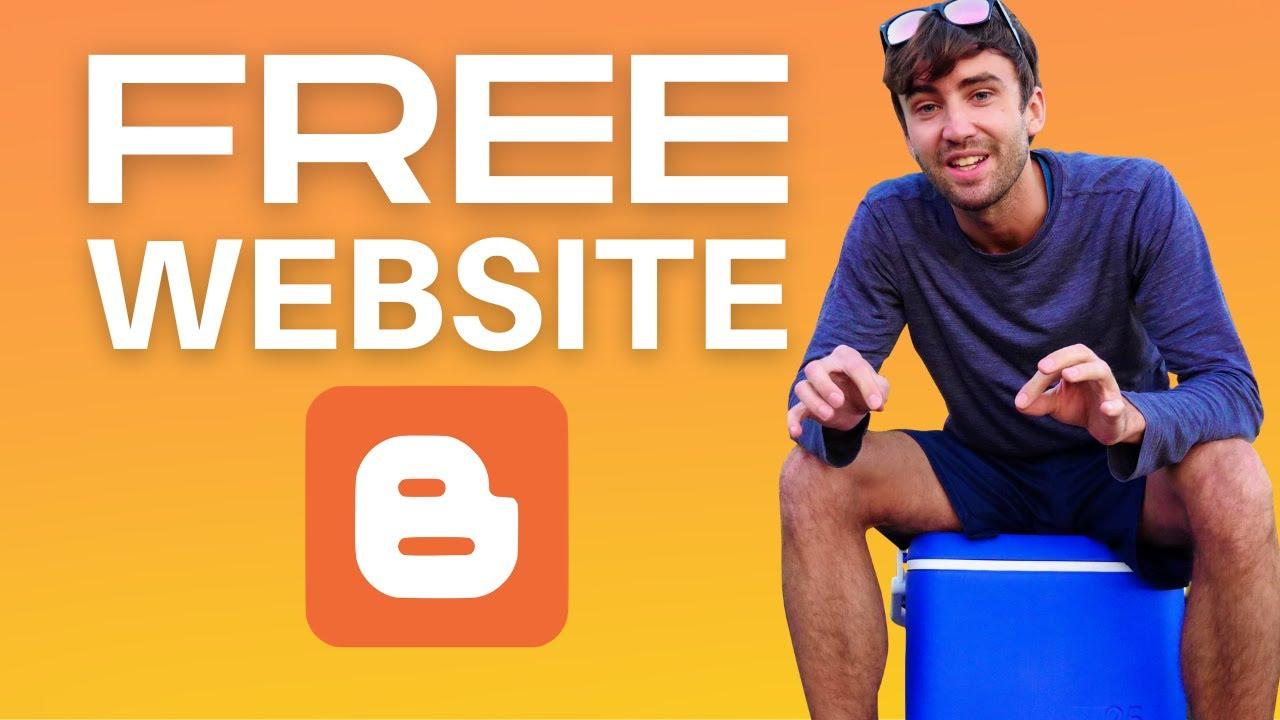 How to Make a Free Blog Website on Blogger.com