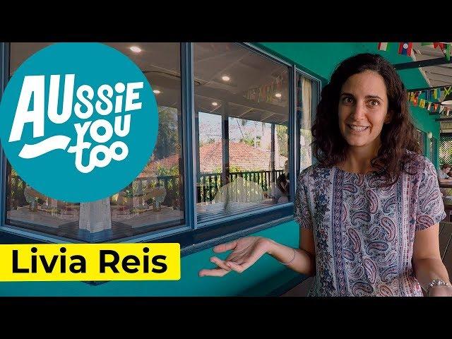 Livia: trabajando en una escuela de inglés en Australia