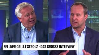 Fellner grillt Strolz - das große Interview auf oe24.TV