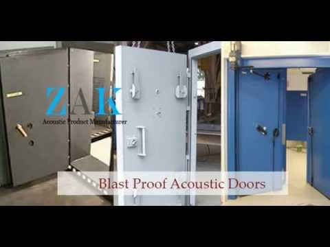 Acoustic Wooden and Metal Door Manufacturer & Supplier India - ZAKACOUSTICS