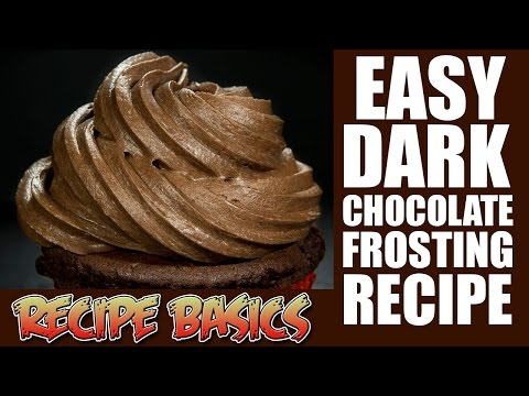 Easy Dark Chocolate Frosting Recipe (Boiled icing recipe )