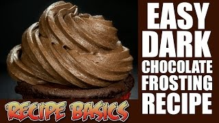 easy dark chocolate frosting recipe boiled icing recipe