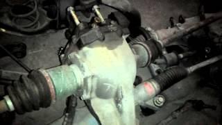Задний редуктор Subaru Forester SG5 Crossport Turbo 27011-AA541