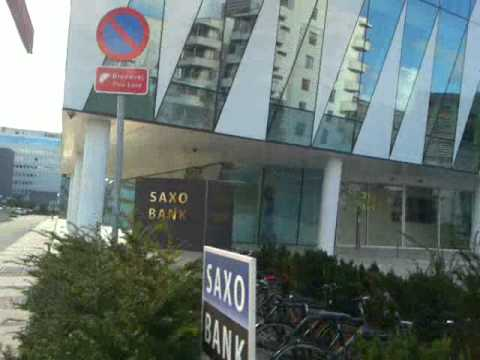 SAXO BANK Copenhagen - outside building