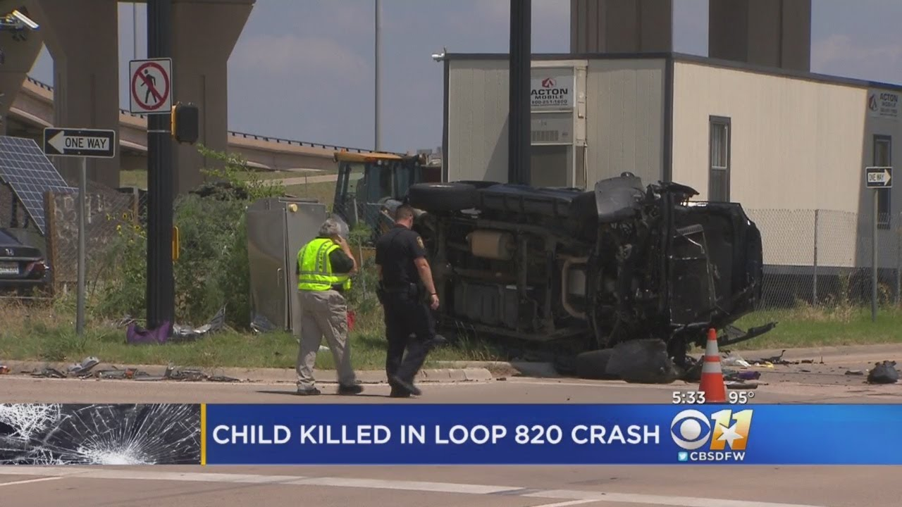 5-Year-Old Killed In Rollover Crash In Fort Worth