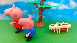 Świnka Peppa i Karaluch Robot po Polsku  Bajka dla dzieci