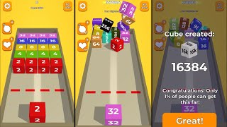Chain cube 2048 3D Gameplay High Score screenshot 2